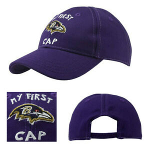 Baltimore Ravens New NFL Proline Youth Purple Infant Baby Era My First Hat Cap