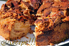 "☆Apple Layer Coffee Cake ""RECIPE""!☆Moist & Tasty!!!☆"