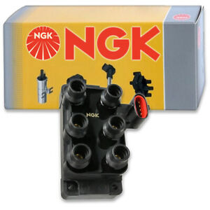 1 pc NGK Ignition Coil for 1994-2000 Ford Mustang 3.8L V6 - Spark Plug Tune lm