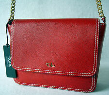 Tula by Radley Saffiano Originals Shoulder Bag in Red Leather