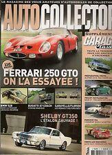 AUTO COLLECTOR 21 MUSTANG SHELBY GT350 FERRARI 250 GTO FLORIDE BUGATTI 57