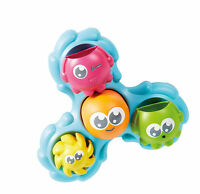 TOMY E72820C Spin and Splash Toomies Octopus Bath Toy for Water Play Suitable 3