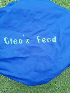 Horse Pony Personalised feed bucket covers fit 14 litre tubtrugs **FREE POSTAGE*
