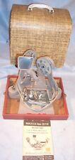 1967 MANSFIELD ARGUS #800 8-16mm Movie Film Little Gem Editor 8MM Viewer Screen