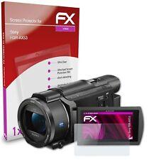 atFoliX Glass Protector voor Sony FDR-AX53 9H Beschermend pantser