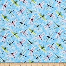 Cuarto gordo libélulas que me Bug 100% Cotton Quilting fabric insectos