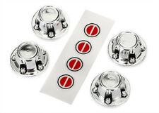 Traxxas 8176 8176 Chrome Center caps wheel (4) decal sheet TRX-4 Ford Bronco