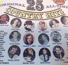 25 ORIGINAL ALL-TIME COUNTRY HITS Vol.2 Tape Cassette VARIOUS ARTISTS CG-4004
