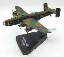 1:144 Scale UK Handley Page Halifax WWII Bomber Fighter Diecast Aircraft Model