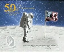 2019 Apollo 11 50th Anniversary Engraved Print: Giant Leap  1969-2019 ~BEP