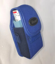 Small Vertical Flip Top Belt Clip Asthma Inhaler Carry Case Protective Pouch