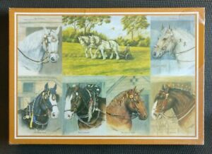 HEAVY HORSES by Dick Twinney 1000 Pcs Horse Art Jigsaw Puzzle NEW & SEALED
