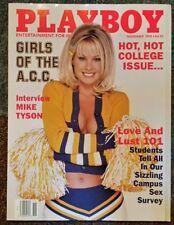 Playboy magazine November 1998 College Girls of the ACC, Mike Tyson, Drew Pinsky