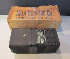 New In Box Sola Constant Voltage Transformer 30b885 60va 1 Phase 95 125v H3