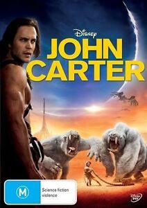 John Carter DVD (PAL, 2012) Free Post