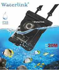 Waterlink IPX8 (66 ft) Universal Camera waterproof case for Canon S95 / S90