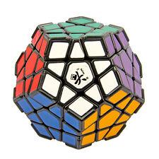 Dayan Megaminx Twisty Puzzle Magic Cube Speedsolving with Corner Ridges Black
