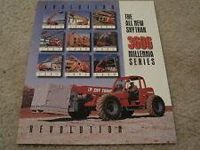 Skytrak 3606 Forklift Product Brochure / Poster *NEW* Telehandler Reach-Forklift