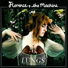 Lungs [Deluxe Edition] by Florence + the Machine (CD, Apr-2011, 2 Discs, Univer…