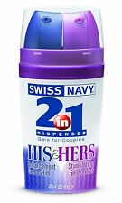 Swiss Navy 2-IN-1 His & Hers - Powerful Enhancement and Arousal Gel - 2 x 25ml