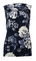 Charter Club Women's Hardware-Trim Floral Jersey Top