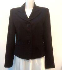 NEW *MEXX* Ladies Smart  Black Fully Lined Tailored Blazer Jacket UK 14