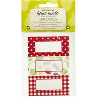 Pack Of 30 Home Made Self Adhesive Orchard Jam Labels - Jar Kitchen Self