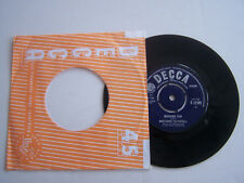 "RECORD  7 "" ,  45 T VINYL  JUKE BOX , MARIANNE FAITHFULL , MORNING SUN . 1965 ."