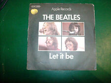 "THE BEATLES ""LET IT BE/YOU KNOW MY NAME"" 1970 APPLE C000604553 1^ stampa FRANCIA"