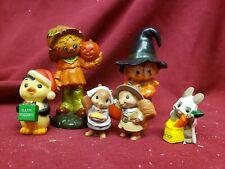 Vintage Hallmark Merry Miniatures Halloween Fall Christmas 1974 Scarecrow