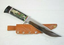 Vintage Collectible Knife Rose Valley Straight Kitchen & Everyday Handmade Sharp