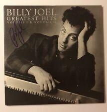 Billy Joel Signed Greatest Hits Vinyl LP JSA COA # Q64636 Autographed