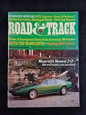 Road & Track Mar 1975 Chevy Monza - Porsche Turbo Carrera - Chevy Nova  Cadillac