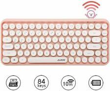 Wireless Bluetooth Mechanical Keyboard 84-Key Typewriter Keypad For PC MAC Home