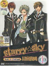 DVD Starry Sky (TV 1 - 26 End) DVD + CD + Free Gift