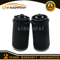 Pair Air Suspension Air Springs Bag for BMW X5 E53 Rear Left + Right 37126750355