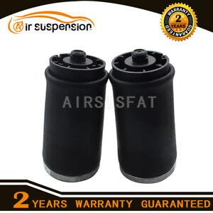 Pair Air Suspension Air Springs Bag for BMW X5 E53 Rear Left + Right 37126750355