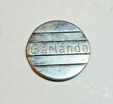 RARE Garlando Table Games Grooved Token/Coin/Medallion 26mm