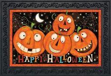 """Happy Jacks Halloween Doormat Jack O'lantern Indoor Outdoor 18"""" x 30"""""""