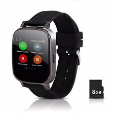 Hiwatch Waterproof Bluetooth Smart Watch For Android Huawei HTC LG With 8G SD