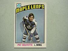 1976/77 O-PEE-CHEE HOCKEY CARD #367 PAT BOUTETTE ROOKIE NM SHARP!! 76/77 OPC