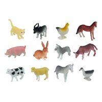 Kinder Spielzeug Bauernhoftiere Figuren Partytüten Füllung Pig Pferd Kuh Schaf