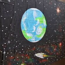 space themed wall hanging backdrop