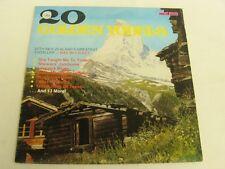MAX McCauley - 20 GOLDEN YODELS - NEW ZEALAND - RARE NZ LP