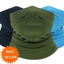 Outdoor Sport Neck Gaiter Cover Scarf Snood Tube Bandana Beanie Hair Cover Cap