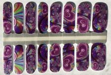 Color Nail Polish Strips, 16ct. CUSTOM LOVE AT THE END OF THE RAINBOW