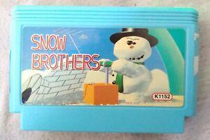 Snow Bros. Nintendo Famicom NES (Famiclone) - USA Seller
