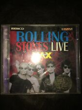 THE ROLLING STONES Live At The Max Double Video CD (VCD) Steel Wheels POST FREE