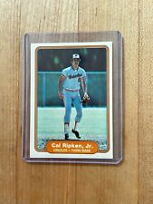 Cal Ripken Jr. Baltimore Orioles Rookie Card 1982 Fleer #176 Excellent Condition