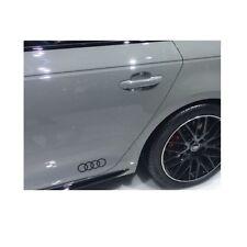 Original Audi Dekorfolie Ringe Audi-Ringe in Brillantschwarz